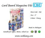 Card Board Magazine File 416