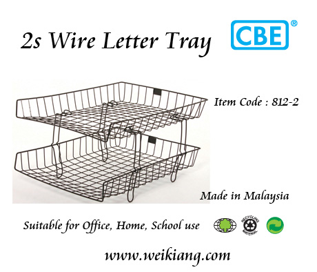 CBE 812-2 Wire Letter Tray (2 Layer )