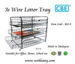 CBE 813-3 Wire Letter Tray (3 Layer )