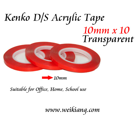 Acrylic Tape 10mm x 10