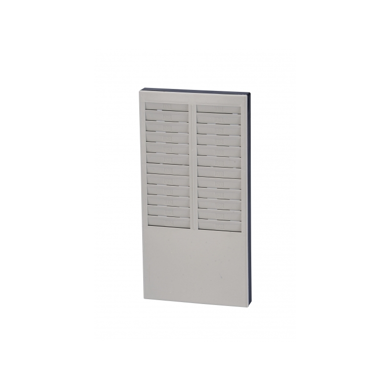 MKP Expandable Time Card Rack 24's