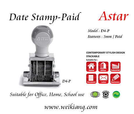 Paid D4-P Astar Date Stamp