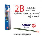 DOLPHIN DOL-WP2B OFFICE 2B PENCIL 12's