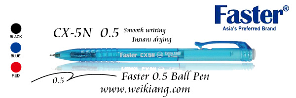Faster CX-5N 0.5 Ball Pen