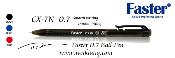 Faster CX-7N 0.7 Ball Pen