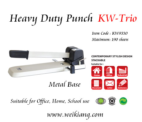 KW-Trio KW93300 Heavy Duty Punch