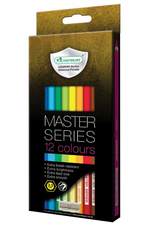 MasterArt 12c Full 3.3 Coloured Pencil