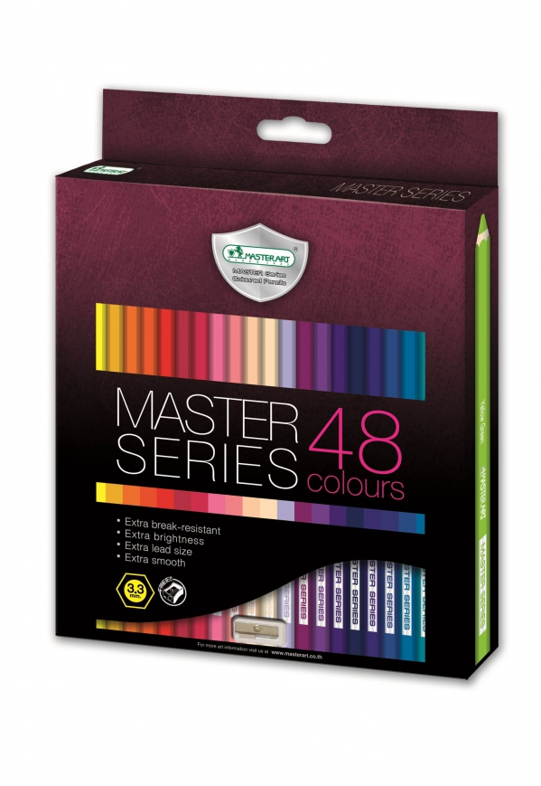 MasterArt 48c Full 3.3 Coloured Pencil