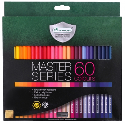 MasterArt 60c Full 3.3 Coloured Pencil