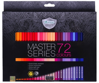 MasterArt 72c Full 3.3 Coloured Pencil
