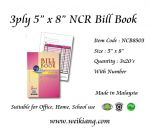 "3ply 5"" x 8"" NCR Bill Book With Number"
