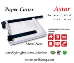 Paper Cutter - Metal Base - All Size