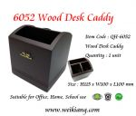 6052 Wood Desk Caddy