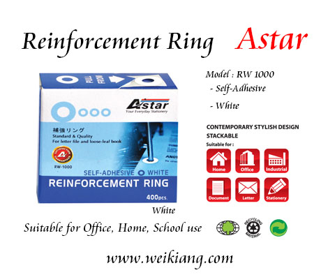 Astar RW-1000 Reinforcement Ring (White)