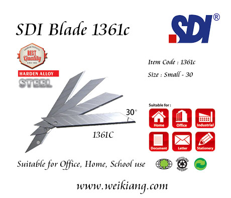 SDI 1361C Cutter blade Small