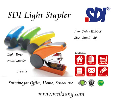 SDI 1113C-X Stapler No.10 Light Force