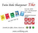 Tiko 00368 Sharpener (Twin Hole)