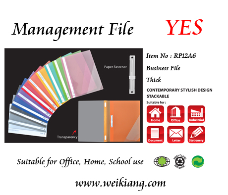 Yes RP12A6 Management File - Thick