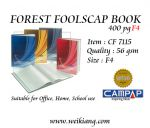 Forest 400p F4 Foolscap Book CF7115