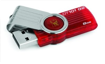Kingston Datatraveler 101 Gen 2 with urDrive 8 GB USB 2.0