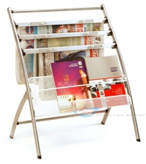 NM302 Newspaper & Magazine Rack