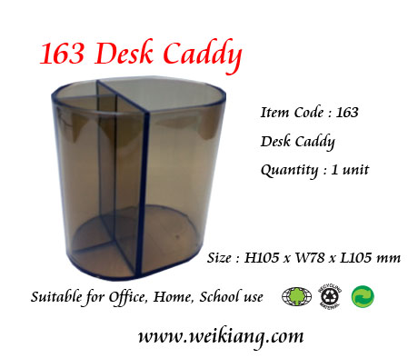 163 Plastic Desk Caddy