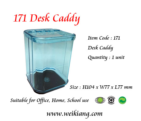 171 Plastic Desk Caddy